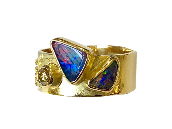 Gold and Opal Ring - No. 36