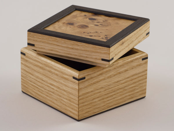 Black Edge Jewellery Box
