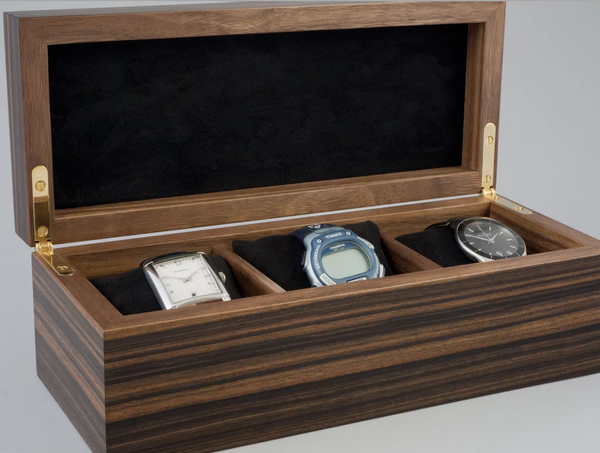 Macassar Ebony Watch Box