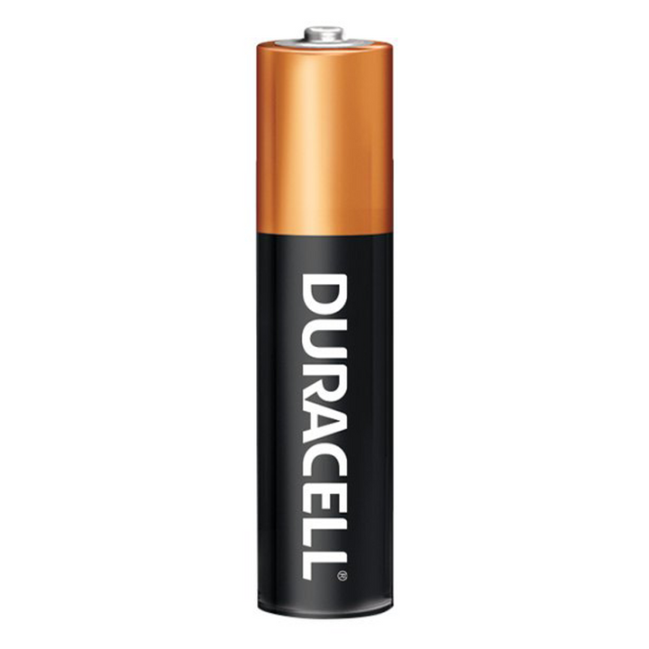 DURACELL 1.5V AAA MN-2400 COPPERTOP ALKALINE BATTERY, box of 24