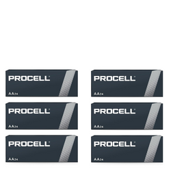 PROCELL 1.5V SIZE AA PC-1500 ALKALINE BATTERIES BOX OF 144