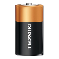 DURACELL 1.5V SIZE D MN-1300 COPPERTOP ALKALINE BATTERY BOX OF 12