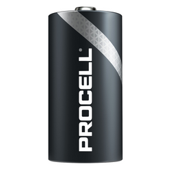 PROCELL 1.5V SIZE C PC-1400 ALKALINE BATTERY BOX OF 12