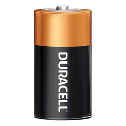 DURACELL 1.5V SIZE C MN-1400 COPPERTOP ALKALINE BATTERY, box of 12