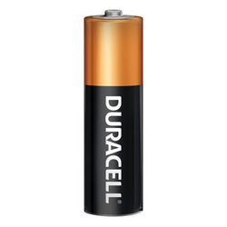 DURACELL 1.5V AA MN-1500 COPPERTOP ALKALINE BATTERY, box of 24