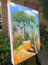 Load image into Gallery viewer, Original Oil Painting - Cactus Path