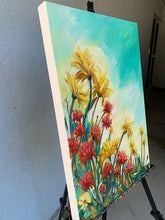 Load image into Gallery viewer, Original Oil Painting - Reach for the sun