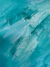 Load image into Gallery viewer, Original Oil Painting - Abstract Sea
