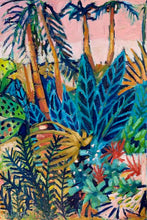 Load image into Gallery viewer, Original Oil Painting - Tropical Garden