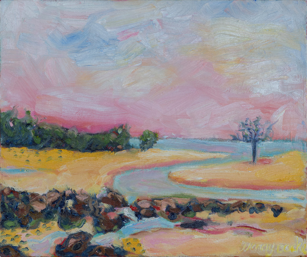Original Oil Painting -  Tannum Beach