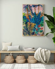 Load image into Gallery viewer, Limited Edition Print  - Tropical Garden - 1/25 on Canvas using museum grade materials