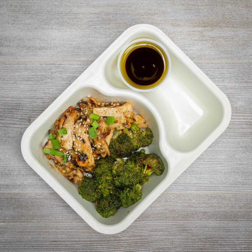 Keto Meal Box - Chicken Thigh #2 - Yakitori Chicken Thigh - Power Kitchen