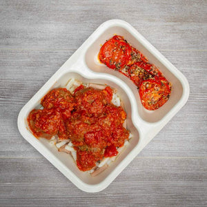 Pro Athlete Meal Box - Ground Beef #1 - Italian Meatballs - Power Kitchen