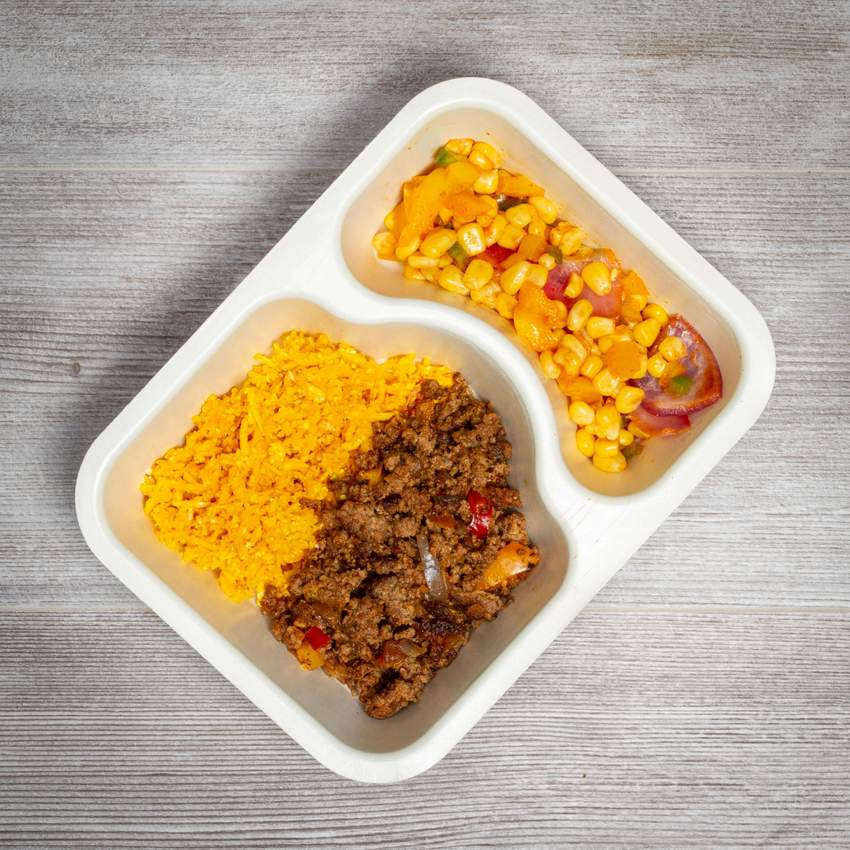 Lean Muscle Meal Box - Ground Beef #1 - Taco Ground Beef - Power Kitchen