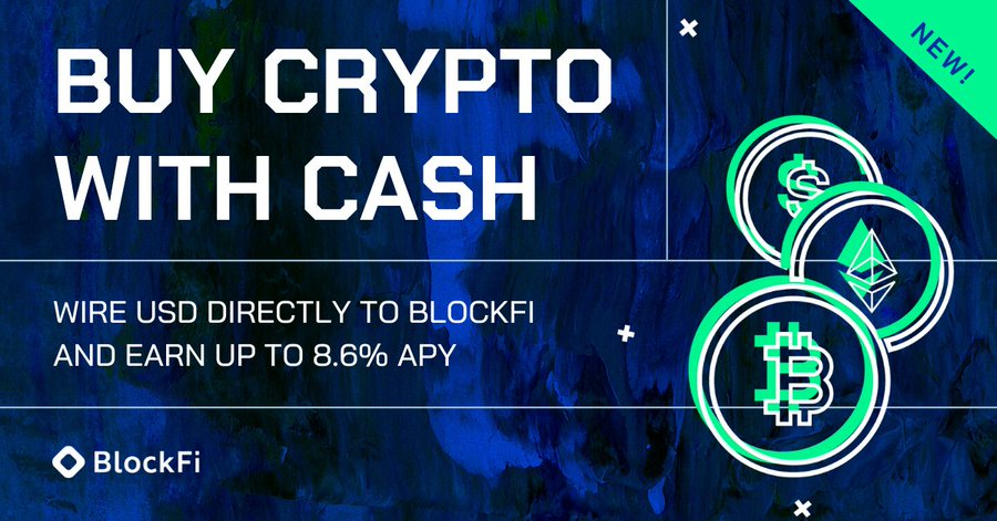 Open BlockFi Interest Account and Apply for Bitcoin Credit Card