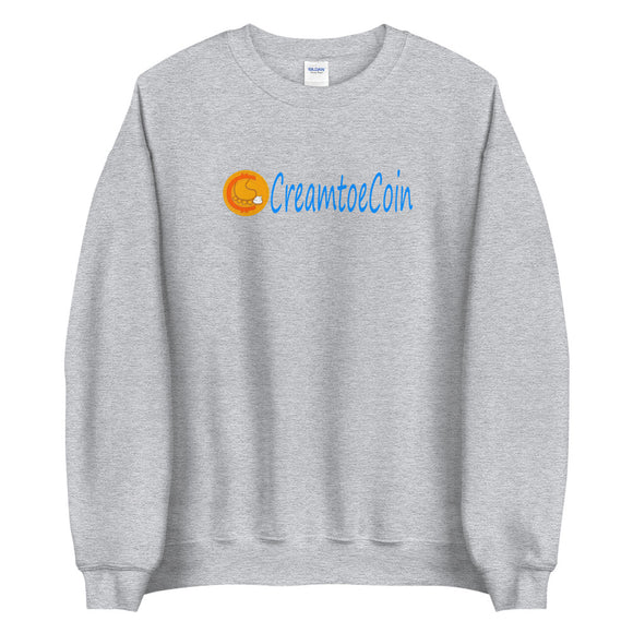 CRTC Text with Logo Unisex Sweatshirt