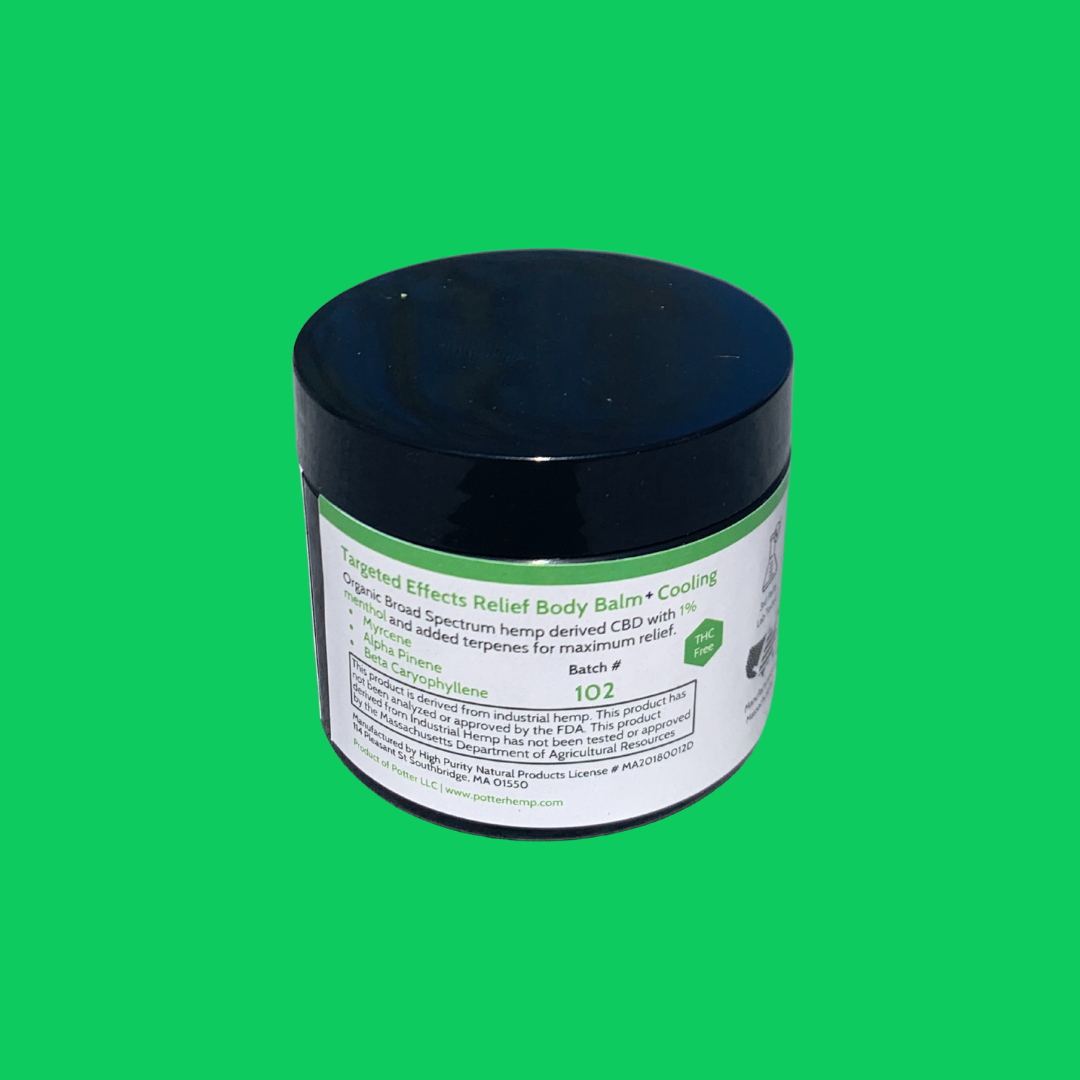 Targeted Effects CBD Relief Body Balm + Cooling | 1000mg