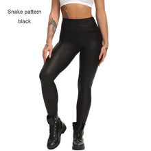 Load image into Gallery viewer, Faux Leather Push Up Twerk Leggings