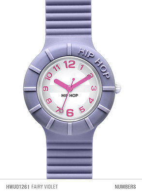 Hip Hop Numbers Orologio Cassa 32 mm Fairy Violet (Violetto) HWU0126