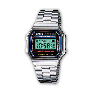 Orologio da polso Casio Collection Vintage Digitale Unisex A168WA-1YES