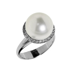 Anello Donna con Perla South Sea AE220BA - Genesia