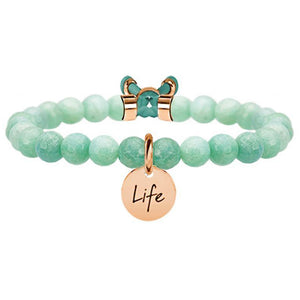 Bracciale Amazzonite Rose Symbols Life Collection 731159 - Kidult