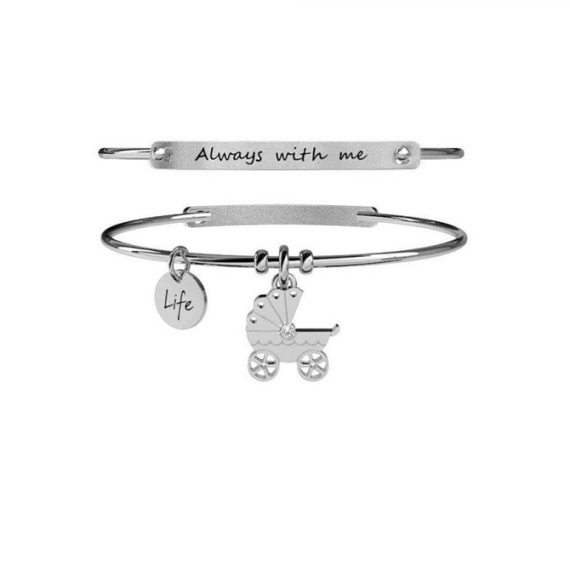 Bracciale Carrozzina Special Moments Life Collection 231666 , Kidult