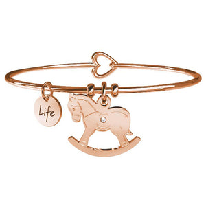 Bracciale Cavallo a Dondolo Rose Special Moments Life Collection 731081 - Kidult