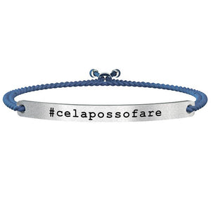 Bracciale #Celapossofare Philosophy Life Collection 731144 - Kidult