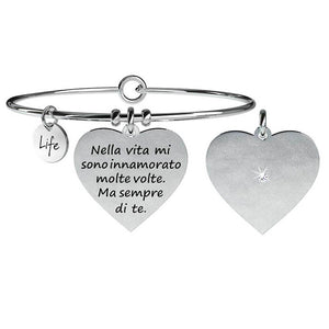 Bracciale Cuore Love Life Collection 731059 - Kidult