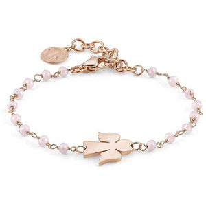 Bracciale Donna Acciaio Rose Angelo con Cristalli Mon Amour Nomination
