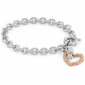 Bracciale Donna Ottone con Zircone Rock in Love Nomination