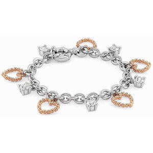 Bracciale Donna Ottone con Zirconi Rock in Love Nomination