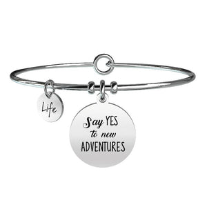 Bracciale Free Time Say Yes To New Adventures 731255 - Kidult