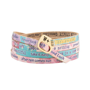 Bracciale Japan Printes Collection Pelle WP227 - We Positive