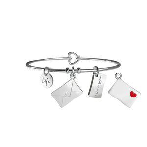 Bracciale Lettera Love Life Collection 231652 - Kidult