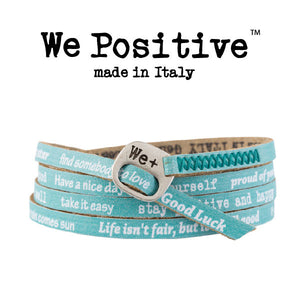 Bracciale We Positive Acquamarina Vintage Collection Pelle WP132