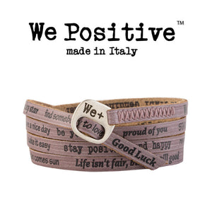 Bracciale We Positive Fango Vintage Collection Pelle WP135
