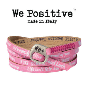 Bracciale We Positive Fuxia Vintage Collection Pelle WP113