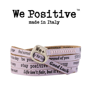 Bracciale We Positive Lilla Vintage Collection Pelle WP133