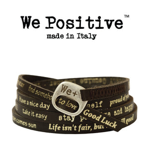 Bracciale We Positive Testa di Moro Vintage Collection Pelle WP126