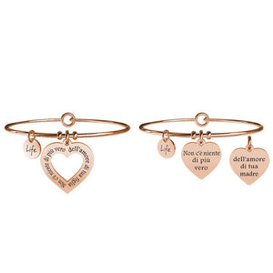 Bracciali Mamma-Figlia Rose Love Life Collection 731099 - Kidult