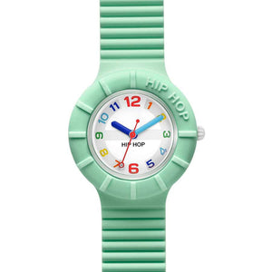 Hip Hop Numbers Orologio Cassa 32 mm Green Ash HWU0465
