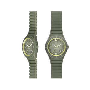 Hip Hop X-Man Orologio Cassa 42 mm Dusty Olive Uomo HWU0478