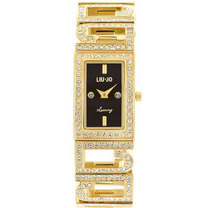 Liu Jo Luxury Chris Nero Gold Orologio Donna TLJ 335