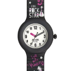 Orologio Bambina Kids Fun Rock Star HWU0903 Nero Hip Hop