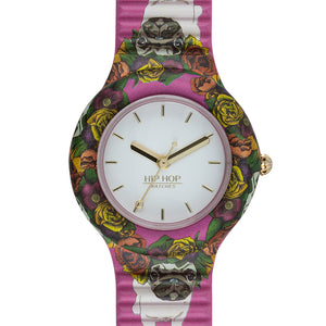 Orologio Donna Animals Addicted Cane Carlino HWU0879 Hip Hop