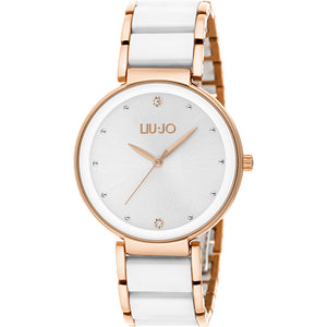 Orologio Donna Bicolour Bianco Gold Rose Liu Jo Luxury