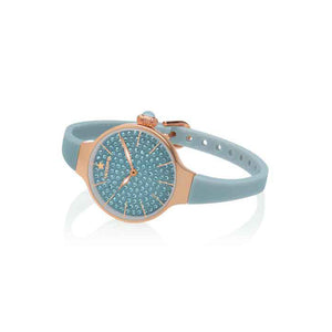 Orologio Donna Chérie Diamond 160 Rose Gold Grigio Hoops