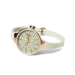 Orologio Donna Chérie Diamond Gold Bianco 2483LGD-01 - Hoops